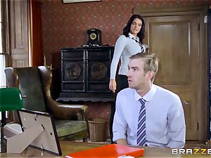 ginormous dicked teacher plows sumptuous student Emma Leigh
