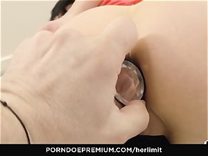 HER limit - rough assfuck and face pummel with Sasha Rose