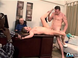cheating wifey Daisy Layne pummeled by man