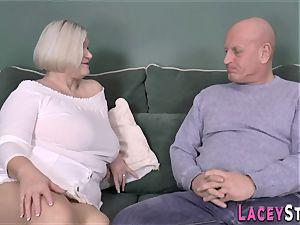 tit-banging brit granny