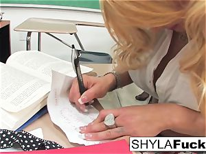 schoolgirl Shyla Gets pummeled