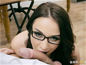 ass-fuck tucked milf professor Anissa Kate in class