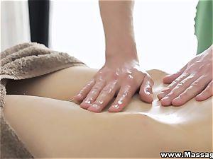 massage X - rectal on massage table