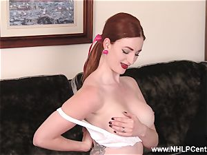 buxom sandy-haired jerks in underwear vintage nylons
