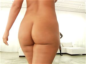Phoenix Marie getting her bouncy rump torn up with ebony salami