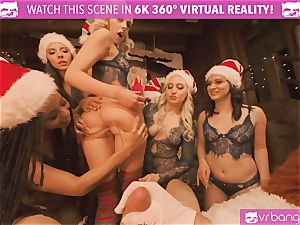 VRBangers Christams hookup With Eight mind-blowing Elves