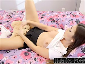 Nubiles-Porn sizzling daughter-in-law bursts On Daddy's gigantic cock