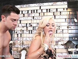 erotic Cameron Dee take hard-on