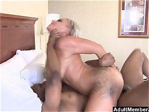 AdultMemberZone - huge jugged cougar covets dark-hued man meat