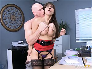Reena Sky pounds her massive dicked counterpart