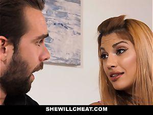SheWillCheat - hot cheating wifey vengeance humping