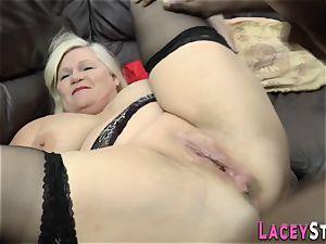 british grandma culo plumbed