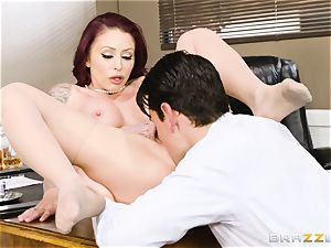 Monique Alexander plumbed doggy-style