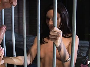 tough deepthroat sessions in prison