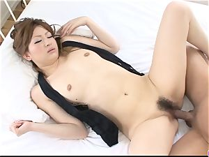 wife Yukina Momose incredible hook-up in couch with a stranger