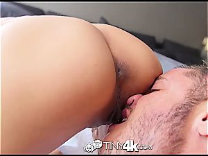 small Chloe Amour takes beef whistle deep