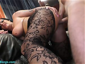Ashley jizm star in super-naughty bang-out