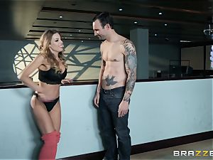 Britney Amber bowling and cootchie pounding