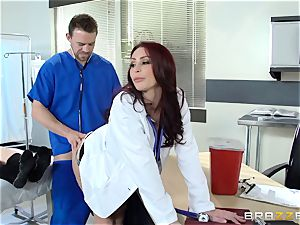 killer doctor Monique Alexander pummels her trainee