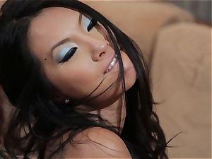 Asa Akira and Jessica Drake naughty 3some poking