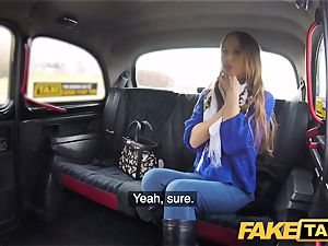 fake taxi warm revenge taxi drill for handsome killer minx