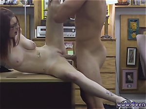 extraordinary rectal total vid first time Jenny Gets Her culo pummeled At The Pawn Shop