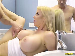 extraordinaire hook-up with nasty huge tits cougar Alexis Fawx and her stepson