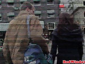 black amsterdam prostitute handles milky dude
