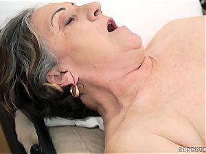elderly nymph pounded stiff in her fuckbox