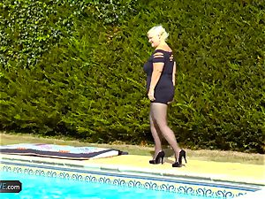 AgedLovE Lacey Starr drilling Poolboy xxx