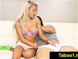 FetishNetwork Marsha May gives stepbro muddy fellatio