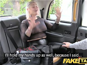faux taxi platinum-blonde milf gets surprise anal invasion fucky-fucky