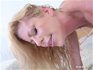 steamy light-haired physician Alexis Fawx