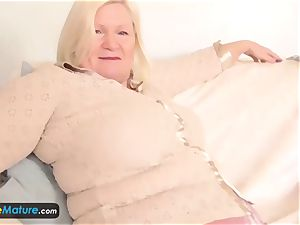 EuropeMature Amy and Lacey solo grandmothers