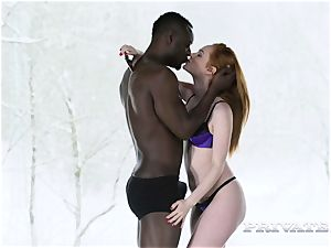 Ella Hughes chooses interracial act