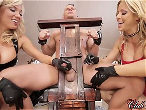 passionate Ms. Alexis Fawx dominates her fresh submissive