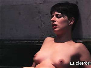 amateur girl/girl nymphs get their fleshy cootchies munched and fucked