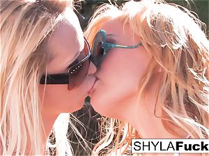 Nikki Benz and Shyla Stylez together for a nymph on female