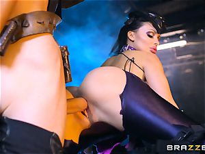 Aletta Ocean slammed with the monster beef whistle of Danny D