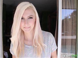wondrous platinum-blonde Alexa mercy