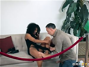 dark-hued hotty Misty Stone plowed with a firm lengthy beef whistle