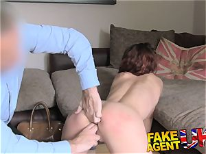 FakeAgentUK Agent has mighty restrain bondage session with milf