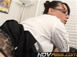 scorching teacher Dana Dearmond porked By Coworker