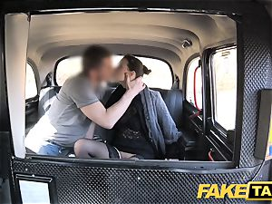 faux taxi Czech doll thirsts a firm fuckpole