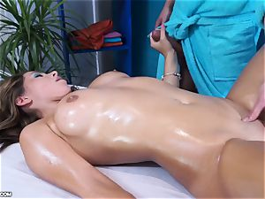 nice Russian lady Ally on a fuck-a-thon rubdown session