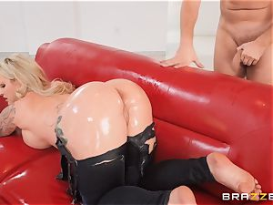 oiled up ripped jeans butt pound with Ryan Connor