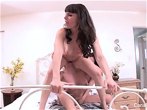 rough 3-way lady vignette with spiting and sole fetish
