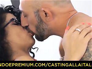 casting ALLA ITALIANA - Romanian nymphomaniac culo drilled